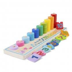 Joc din lemn pentru numărat - Learn to count - New Classic Toys