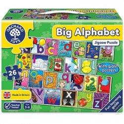 Puzzle în limba engleză - Învață alfabetul - 26 piese - Orchard Toys