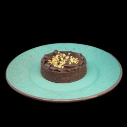 Mini tarte cu ciocolată și caramel sărat image