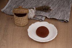 Mușuroi de ciocolată și vișine image