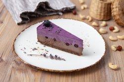 Tort cu afine, lavandă și ciocolată image