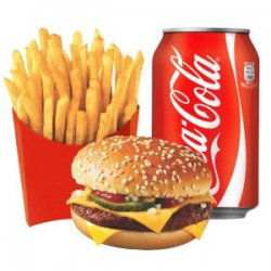 Meniu Burger Prima pui