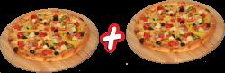 Ofertă Pizza casei 32 cm 1+1  image