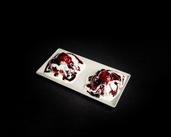 Papanași cu dulceață și smântână  image