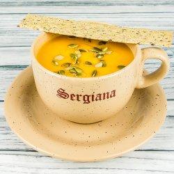 Supă cremă de dovleac cu ghimbir (de post!) image