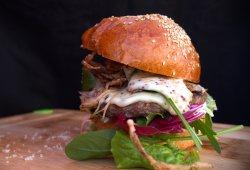 Burger beef & duck image