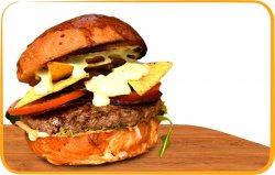 Mexican burger image