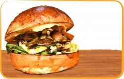 Burger veggie halloumi image