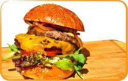 Dublu cheesburger image