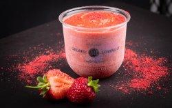 Înghețată artizanală de căpșuni image