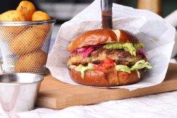 Mean Bean Burger (V) image