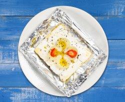 Brânză feta la grătar image