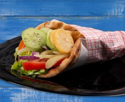 Pita vegetariană image