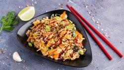 WOK cu orez si pui în sos Teriyaki image