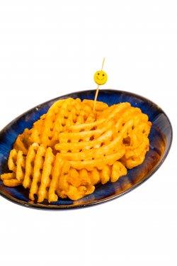 Waffle fries image
