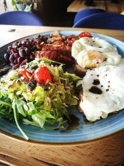 English breakfast image