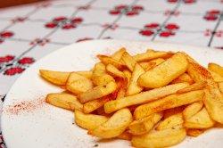 Cartofi prăjiți+sos image