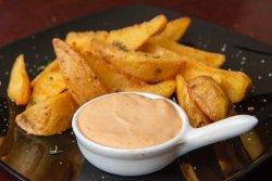 Cartofi wedges+sos image