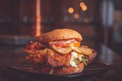 Meniu Burger Crispy pui image