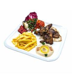 Castaletta cu hummus și tabbouleh image