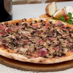 Prosciutto Funghi (QPizza) + o băutură GRATUIT
