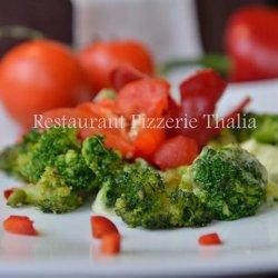Broccoli cu usturoi și parmezan