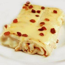 Clătite cu brânză dulce și stafide