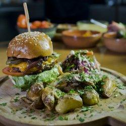 Meniu Cheesburger de porc
