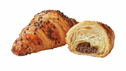 Croissant cu umplutură de cacao și alune de pădure image