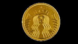 Starbucks® Gold Coin image