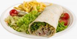 Falafel sandwich image