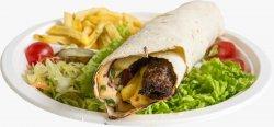 Kafta kabab sandwich image