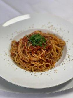 Spaghetti arabiata