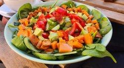 Rainbow salad image
