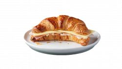 Ham & Cheese Croissant image