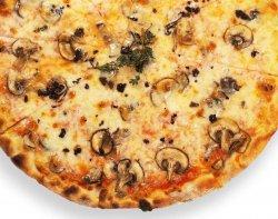 Pizza White mushroom image