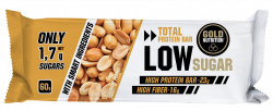 BAR LOW SUGAR APPLE CINNAMON 60 Gold Nutrition