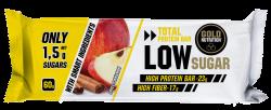 Batoane Proteice, Bar Low Sugar, Mere si Scortisoara, 60 gr, Gold Nutrition