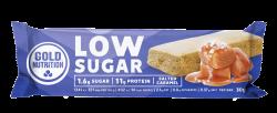 Batoane Proteice, Low Sugar Caramel Sarat, 30 g Gold Nutrition