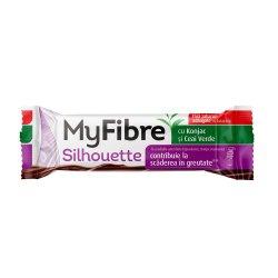 Baton pentru scaderea in greutate,cu ciocolata cu lapte MyFibre, 40g SLY NUTRITIA
