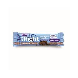 Baton proteic cu ciocolata Fizico The Right, 60g