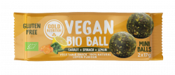 Bile Vegane cu Spanac si Lamaie, 2x17g Gold Nutrition