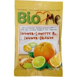 Bomboane cu ghimbir-lime si ghimbir-portocala bio 75g BIO Loves Me