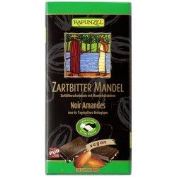 Ciocolata amaruie cu Migdale si 55% cacao VEGANA, 80 g RAPUNZEL