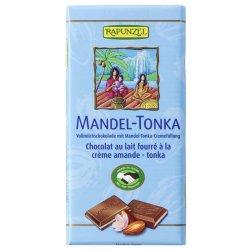 Ciocolata cu crema de Migdale si Tonka, 100g RAPUNZEL