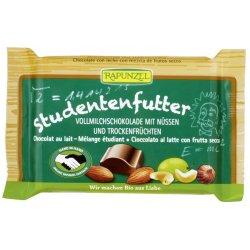 Ciocolata cu mix de fructe si alune 100g Rapunzel