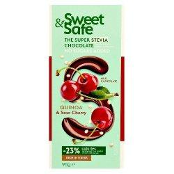 Ciocolata lapte cu quinoa si visine ind. Stevia Sweet&Safe