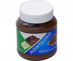 Crema de alune cu cacao fara zaharuri Monteoro