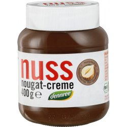 Crema de ciocolata cu alune Nuss-Nougat bio, 400g DENNREE