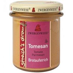 Crema tartinabila vegetala Tomesan cu tomate si parmezan FARA GLUTEN, 160g ZWERGENWISE